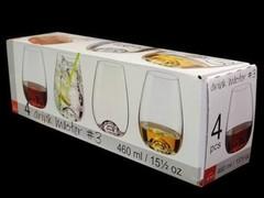 Стаканы для воды Rona Drink master перламутр, 4 шт, фото 2