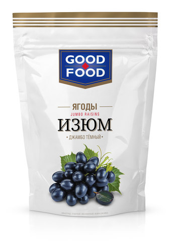 GOOD FOOD изюм Джамбо 150г