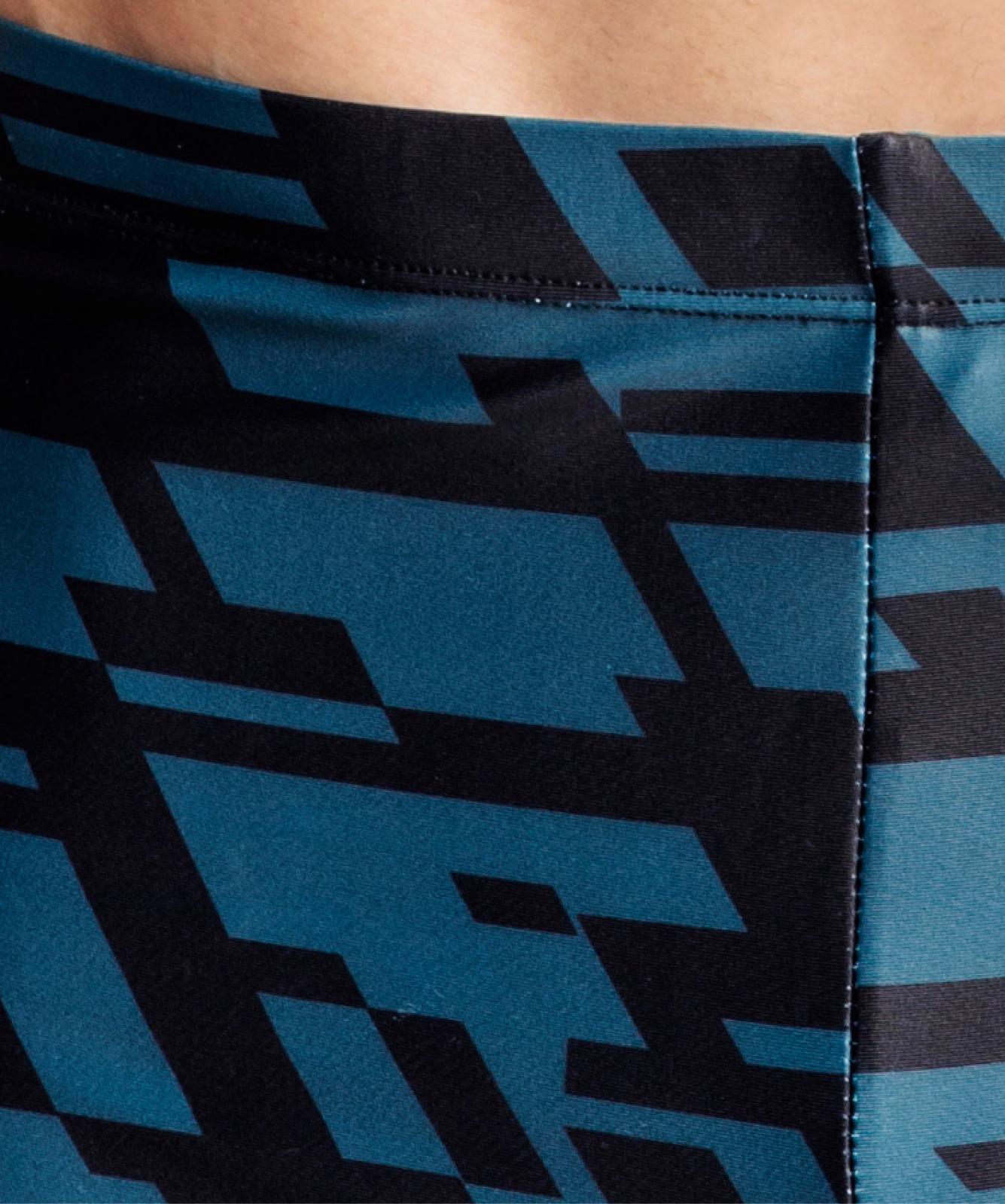 Купальные шорты мужские Atlantic, 1 шт. в уп., полиамид, графит, KMS-311