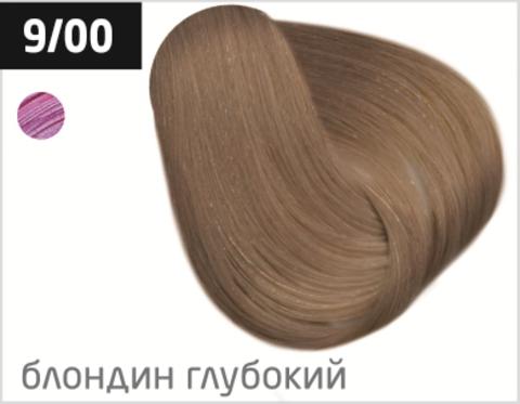 OLLIN performance 9/00 блондин глубокий 60мл перманентная крем-краска для волос