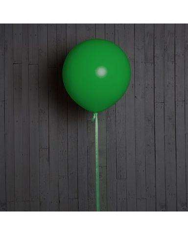 Шар гигант зелёный