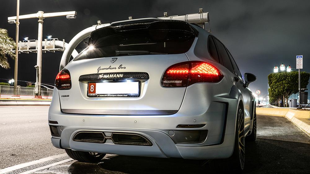 Обвес Hamann для Porsche Cayenne