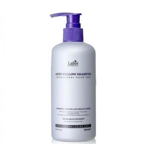 Lador Anti Yellow Shampoo Шампунь для светлых волос для нейтрализации желтого пигмента