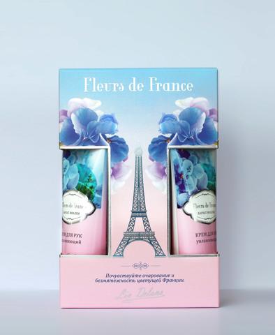 Liv-delano Набор FLEURS DE FRANCE Бархат фиалки (крем для рук,крем для ног,спрей для тела)