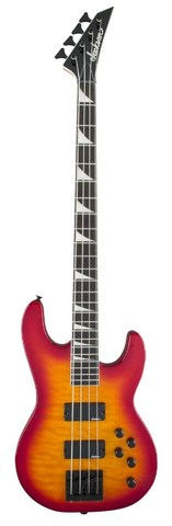 JACKSON JS3Q CB, AH FB - CH BRST Бас-гитара