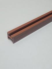 Верхняя направляющая для двери-гармошка, длина 84 см, цвет Вишня