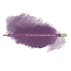 Карандаш художественный акварельный MONDELUZ, цвет 177 лиловый