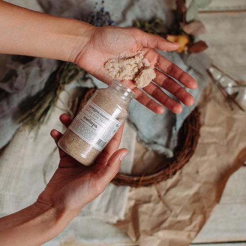 Скраб для тела антицеллюлитный Имбирь Краснополянская косметика, 160 гр