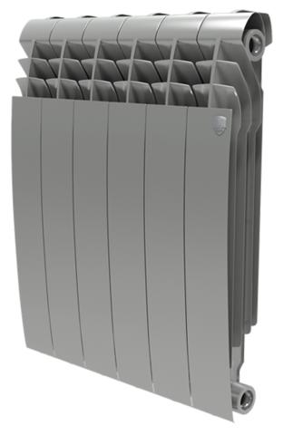 RoyalThermo BiLiner 500 Silver Satin, 4 секции - радиатор биметаллический
