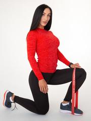 Женский рашгард Lion gym MAXI PERFORATION RASHGUARD RED