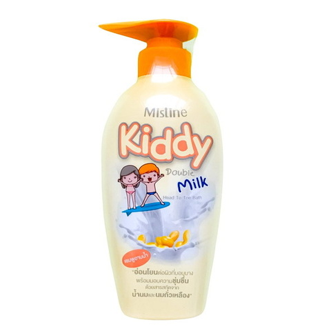 Шампунь-гель для душа для детей Kiddy Milk (молочный) Mistine 400 мл.