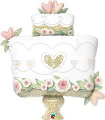 Q Торт свадебный блеск, 40