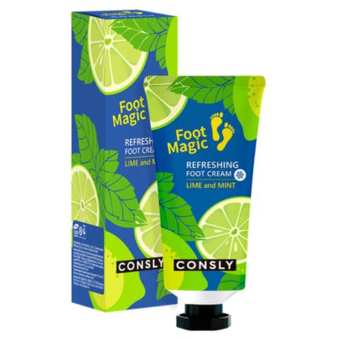 Consly Крем для ног освежающий - Refreshing foot cream, 100мл