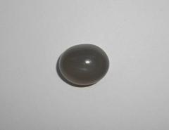 Серый лунный камень 17 x 14 мм кабошон овал