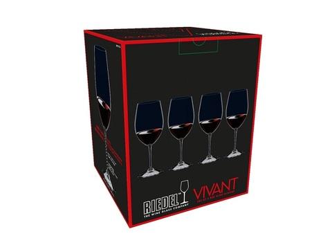 Набор из 4-х бокалов для вина Red Wine  560 мл, артикул 0484/0. Серия Vivant