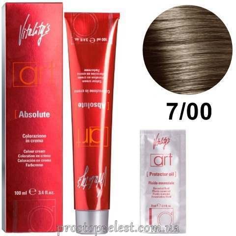 Vitality's Art Absolute Hair Color Cream 100 ml - Стойкая крем-краска для волос с масляным коктейлем 100 мл