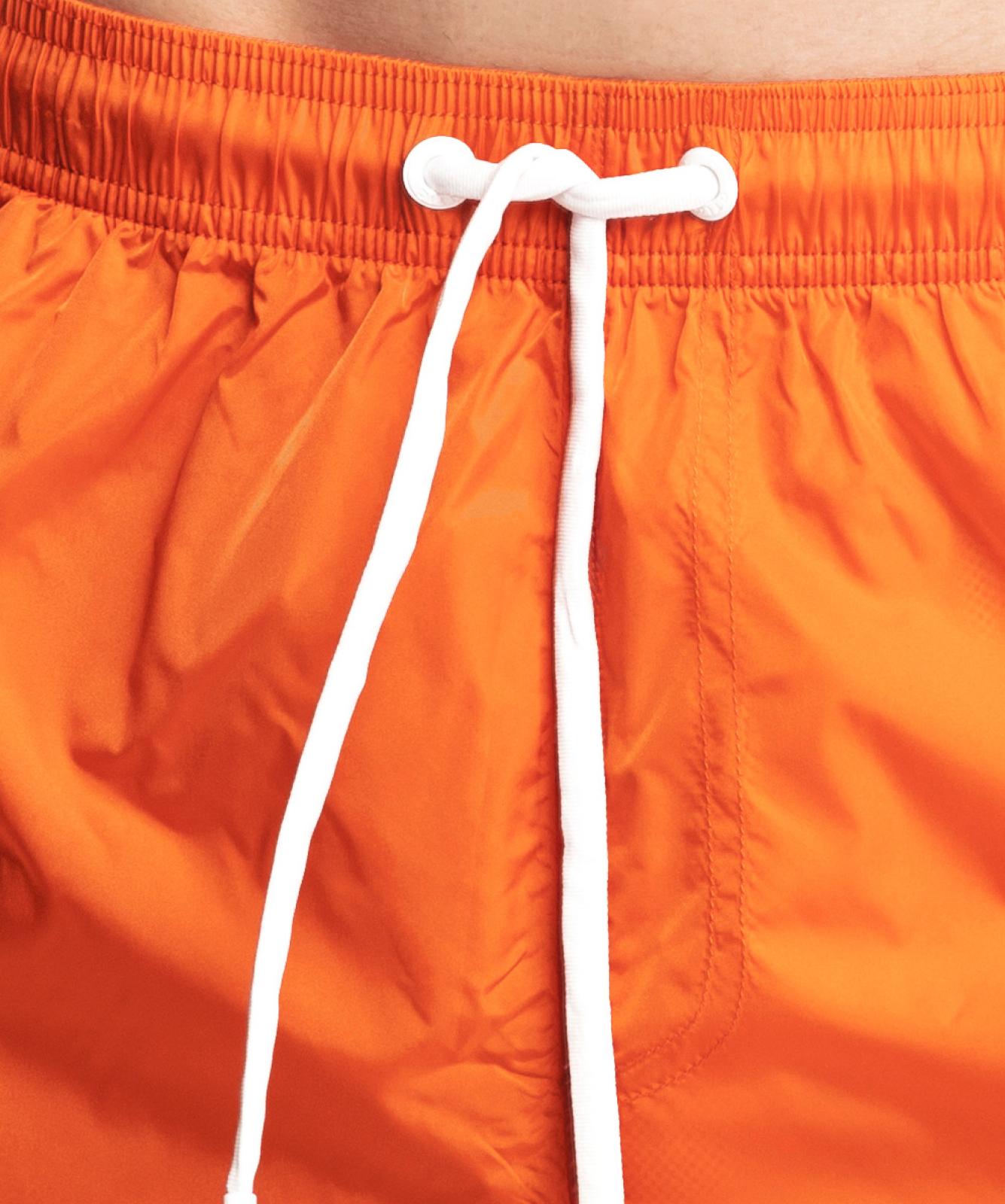 Пляжные шорты мужские Atlantic, 1 шт. в уп., полиэстер, оранжевые, KMB-188