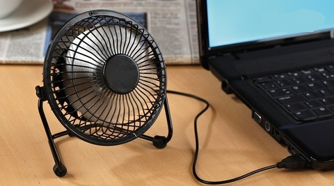Настольный вентилятор USB Mini Fan YR-F002