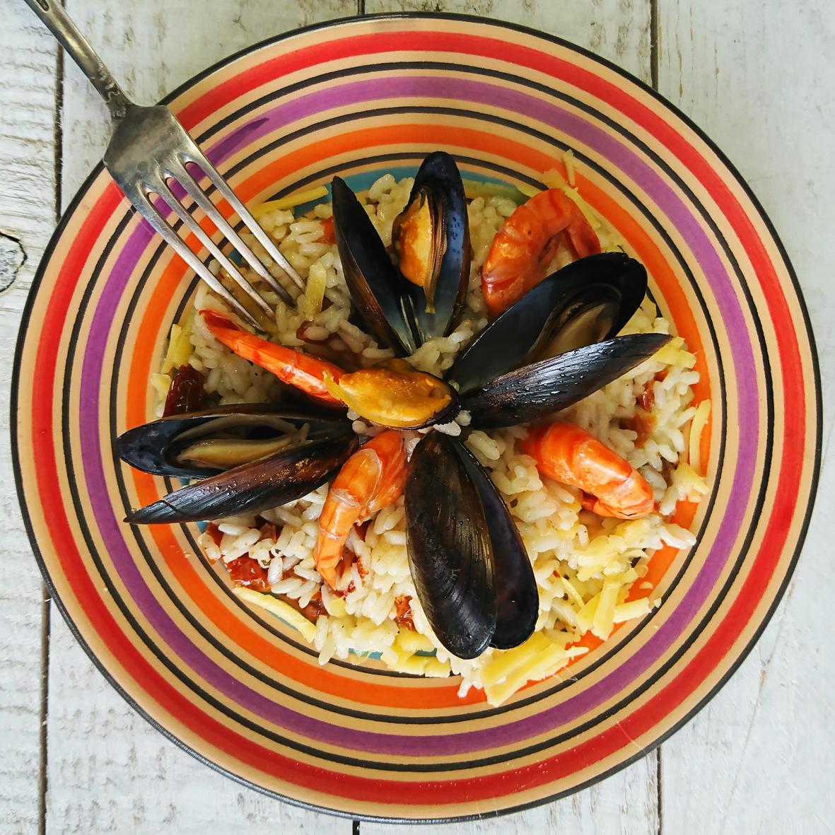 Ризотто с морепродуктами Risotto frutti di mare