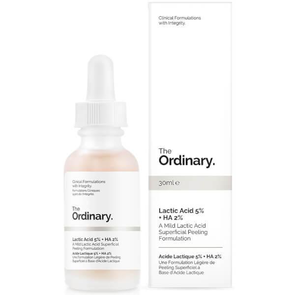 The Ordinary Lactic Acid 5% + HA 2% cыворотка для лица 30мл