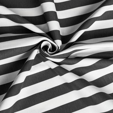 Ткань хлопок Кембридж темно-серый