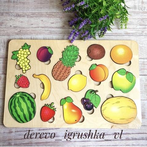 Вкладыш фрукты большой