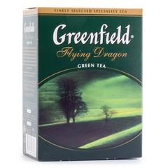 Чай зелёный листовой Greenfield Flying Dragon 100г