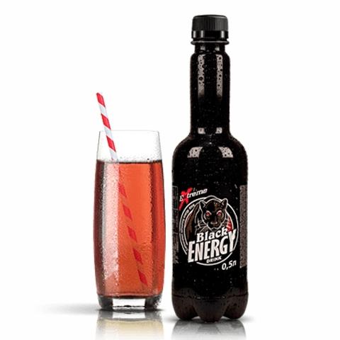 Напиток энергетический Black Energy 0,5 л пл/б КАЗАХСТАН