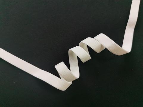 _Отделочная резинка без фестонов, 12 мм, молоко (Арт: OTR628/12-004), м