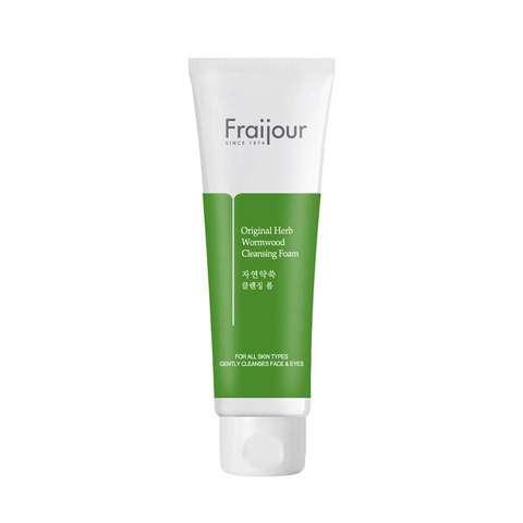 Fraijour Пенка для умывания с экстрактом полыни Original Herb Wormwood Cleansing Foam, 150 мл