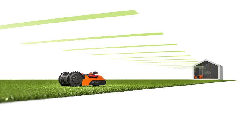 Роботизированная газонокосилка Worx Landroid M WR142E 700м²