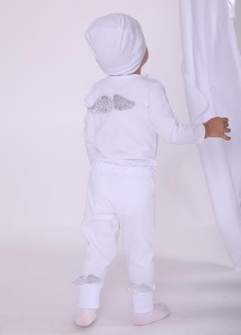 Комплект Амур (боди, штанишки, шапочка)