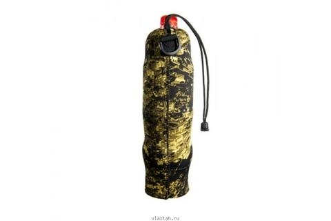 Чехол SARGAN под бутылку 1.0-1.5 л, камуфлированный неопрен RD2.0 5мм, на затяжке – 88003332291 изображение 2