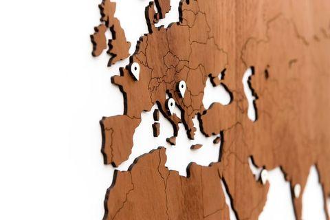 Карта Wall Decoration Exclusive 280х170 cm (Африканское Сапеле)