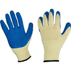 Перчатки рабочие трикотажные с латексным текстурированным покрытием