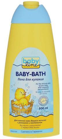 Детская пена для ванны Babyline Nature (500 мл)