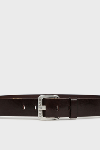 Мужской темно-коричневый кожаный ремень B-STAR Diesel