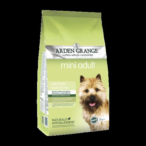 Arden Grange Adult Mini Сухой корм для взрослых собак мелких пород Ягненок и Рис