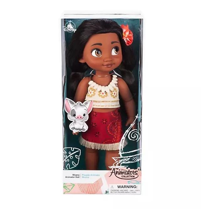 Кукла Моана Disney Animators' Collection