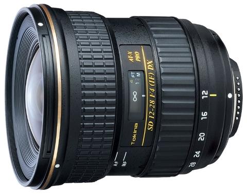 Объектив Tokina AT-X 128 PRO DX 12-28mm F4 для Canon