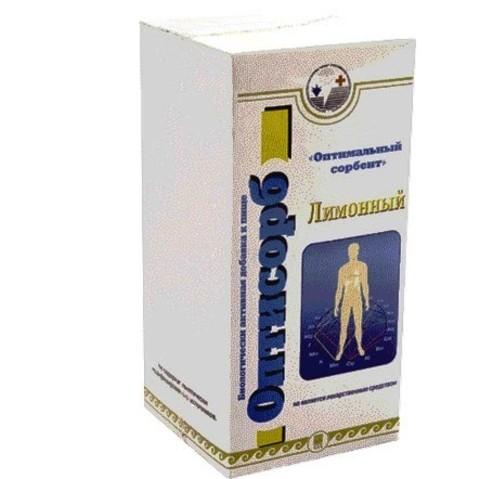 Оптисорб лимонный, гранулы, 100гр(в пакетиках)