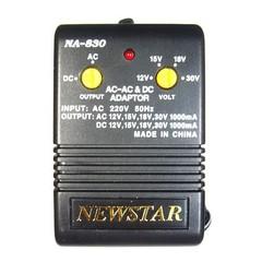 Блок питания Newstar NA-830 (12V, 15V, 18V, 30V - 1000mA)