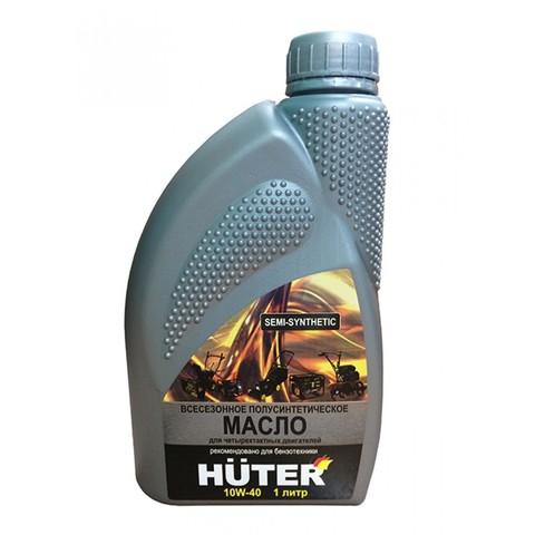 Масло 4-х тактное полусинтетическое Huter 1л