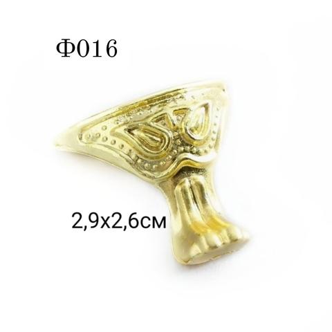 Ф016 Уголок (ножка) для шкатулки металл