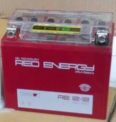 Аккумулятор 12V 16Ah (RE1216.1) RED ENERGY с индикатором заряда