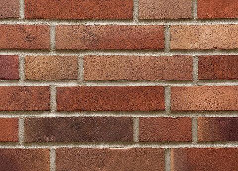 Stroeher - 392 rotrost, Handstrich, узкая, состаренная поверхность, ручная формовка, 240x52x14 - Клинкерная плитка для фасада и внутренней отделки