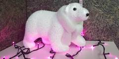Новогодняя игрушка Медвежонок 20см