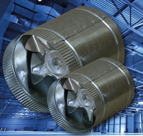 Канальный осевой вентилятор d150 (270м3/ч) Эра CV-150
