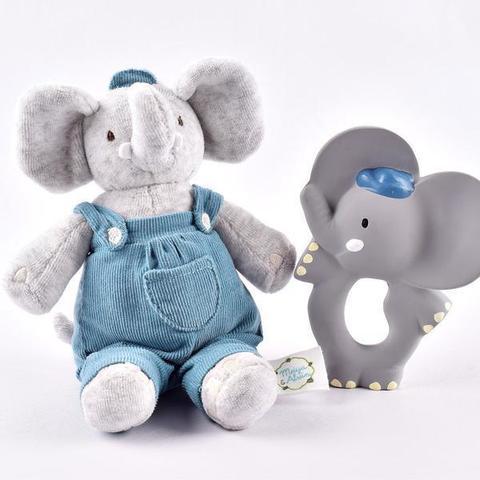 Подарочный набор Alvin: прорезыватель и мягкая игрушка