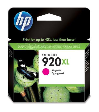 Оригинальный картридж струйный HP CD973AE (№920XL), пурпурный